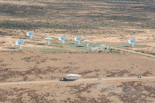 Photo Square Kilometre Array, Karoo South Africa