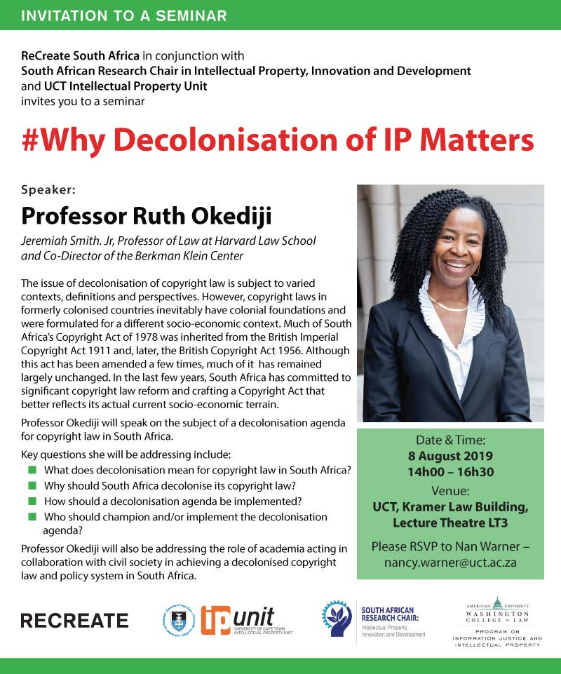Why decolonisation of IP matters